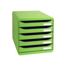 bloc de classement bureau exacompta big box plus bloc de classement à tiroirs