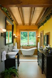 Rustic Farmhouse Bathroom - rustic farmhouse bathroom bathroom rustic with wood grain wall