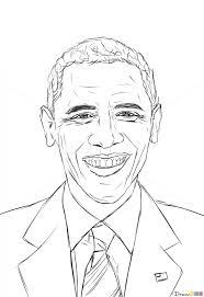 how to draw barack obama celebrities