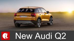 suv audi new audi q2 smallest crossover will be launched in india in 2017