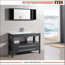 Floor Standing Bathroom Cabinets by China Floor Standing Bathroom Cabinet Solid Wood Bath Vanity