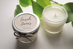 wedding favor candles candle favours
