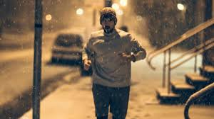 how to run in the winter without freezing to or falling