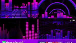 neon light vj backgrounds motion graphic videohive free