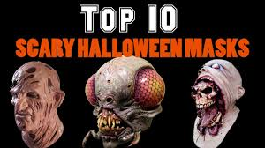 10 Scariest Halloween Costumes Scary Halloween Mask Jason Friday Scary Halloween Masks