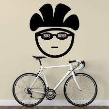 online buy wholesale bicycle wall decal from china bicycle wall 2016 new kids room quote bike rider wall decal bicycle vinyl sticker sport gym home art