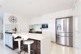 modern kitchen design ideas for small kitchens small white kitchen modern design normabudden com