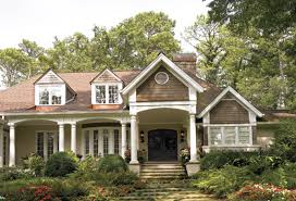 Home Plans With Front Porches New One Story Elsmere House Plan Has Charming Front Porch Country