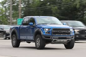 Ford Raptor Blue - new 2018 ford raptor and 2019 ford f 450 spied in dearborn