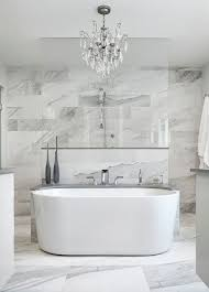 Tile In Bathtub 17 Gorgeous Bathrooms With Marble Tile