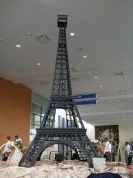 Eiffel Tower Table Centerpieces Monte Carlo Productions Theme Parties Promotional Events Theme