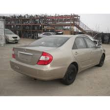used toyota camry 2003 2003 toyota camry parts car gold with brown interior 4 cylinder