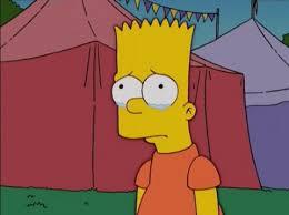 Bart Simpson Meme - bart simpson sad blank template imgflip