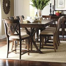 9 piece pub dining set with x shaped details by legacy classic
