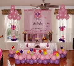 how to decorate home for first birthday party good home