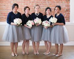 tulle skirt bridesmaid bridesmaid dresses curated by wedding forward on etsy