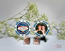 Vegas Wedding Favors by Chips Wedding Favors Sweetly Wrapped Occasions