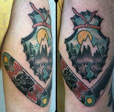 arrowhead tattoo designs pictures to pin on pinterest tattooskid