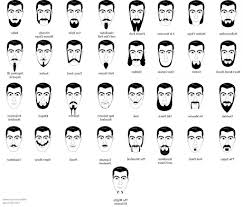 mens haircuts chart black men haircuts styles chart pictures on types of beards and