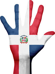 Dominican Republic Flag Dominican Republic Flag Hand Picpng