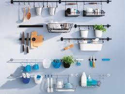 kitchen wall storage ikea kitchen wall storage system fintorp baskets hooks rails cutlery