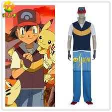 Ash Ketchum Halloween Costume Christmas Costume Party Picture Detailed Picture