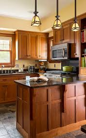 Color Schemes For Kitchens With Oak Cabinets Cherry Brown Kitchen Cabinets Kitchen Decoration