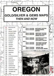 map of oregon gold mines oregon gold and gems 1861 northwest distributors inc