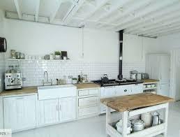 photo de cuisine blanche cuisine blanche et bois ikea finest dcoration cuisine blanc et bois