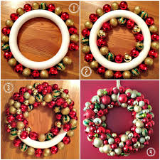 you see those ornament wreaths around town it s so easy