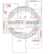 tamil nadu style 1500 sq ft house plan 3 bedrooms 3 bathrooms