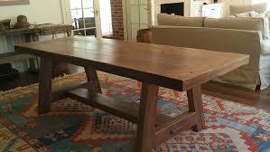 Pine Table Original Finish Heart Pine Table E T Moore U2013 Rare Wood News