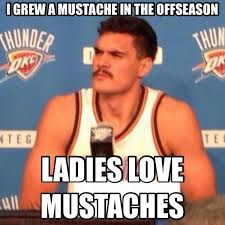 Lebron Headband Meme - nba meme team on twitter proof that steven adams mustache