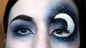 starry night sky inspired make up tutorial dramatic contest