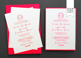 wedding invitations diy card stock invitations diy tutorial neon kraft paper wedding