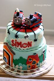 another thomas the train and little spiders birthday cake suzi u0027s