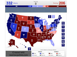 2016 Presidential Usa Election Prediction Electoral Map by Electoral Vote Predictor June 2012
