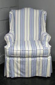 Wingback Chair Slipcover Pattern Bedroom Best White Wing Chair Recliner Slipcovers At Long Last By