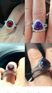 non diamond engagement rings share your non diamond engagement rings weddingbee