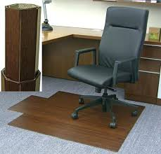 desk rug dark cherry bamboo desk chair mat by office rug floor mats