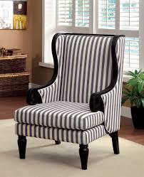accent chairs simple blue and white atme