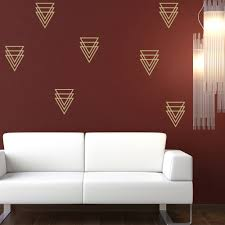 triangle wall sticker geometric design wall decal living room home triangle wall sticker geometric design wall decal living room home decor