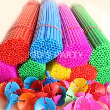 plastic balloons 100pcs lot 30cm balloons sticks and cups plastic