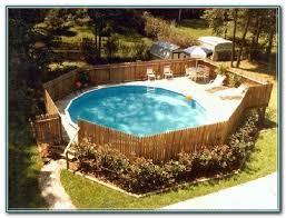 building pool decks above ground decks home decorating ideas