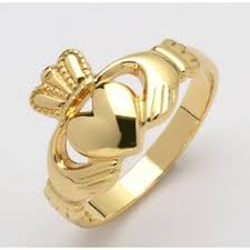 avery claddagh ring retired garnet avery claddagh ring sz 7 no resv