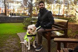 Dogs Helping Blind People Amit Patel Blind Man Puts Gopro On Guide Dog To Film Abuse In