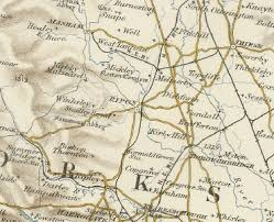 map uk harrogate history of ripon in harrogate and west map and description
