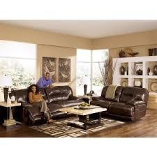 north shore dark brown living room set signature design by ashley