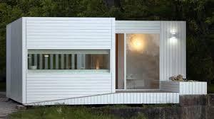 modern compact minimalist modular tiny home small home design