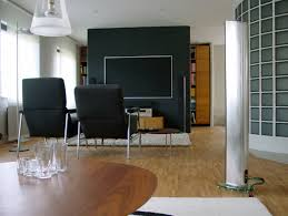 decoration contemporary studio decoration concept with two large
